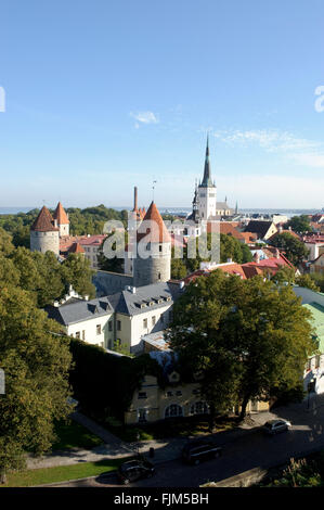 geography / travel, Estonia, Tallinn, city view, Additional-Rights-Clearance-Info-Not-Available - Stock Photo