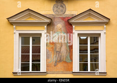 geography / travel, Lithuania, Vilnius, university, Sarkos Court, Additional-Rights-Clearance-Info-Not-Available - Stock Photo