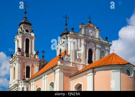 geography / travel, Lithuania, Vilnius, St. Catherine's Church, Additional-Rights-Clearance-Info-Not-Available - Stock Photo