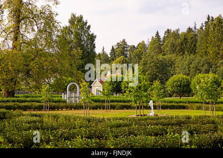 geography / travel, Estonia, manor-house Palmse, German Baltic manor surrounded by magnificent parkway, Additional - Stock Photo