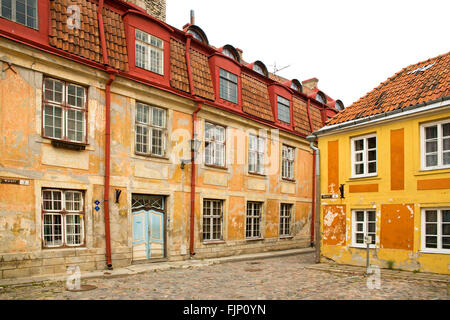 geography / travel, Estonia, Tallinn, old town, alley, Additional-Rights-Clearance-Info-Not-Available - Stock Photo