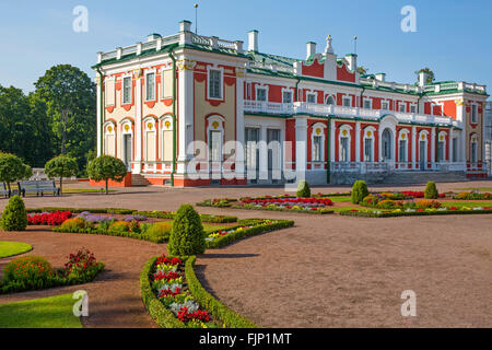 geography / travel, Estonia, Tallinn, baroque palace Kadriorg of Peter the Great, summer palace of czar Peter I, - Stock Photo