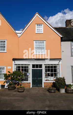 The Angel Gallery, Lavenham, Suffolk, England, UK. - Stock Photo