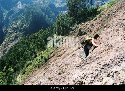 mountainside women Woman killed by massive landslide forcing her over mountainside terrifying moment a woman is swept off the side of a mountain by a massive landslide.