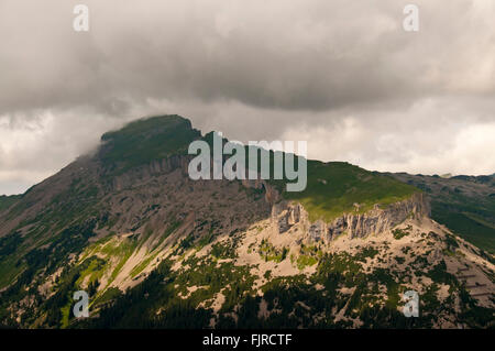 geography / travel, Austria, Vorarlberg, landscapes, view from the Walmendinger Horn to the Hoher Ifen, Additional - Stock Photo