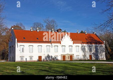 Novi Dvori Castle built in the 16th century, Zapresic, Croatia - Stock Photo