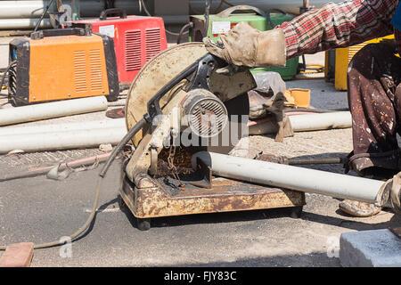 steel cutter - Stock Photo