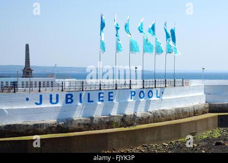Jubilee pool penzance cornwall uk an art deco lido to celebrate stock photo 72312955 alamy for Jubilee swimming pool timetable