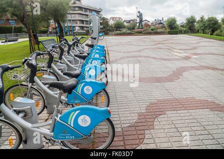 Bikes in Santander, Cantabria, Spain Stock Photo, Royalty ...