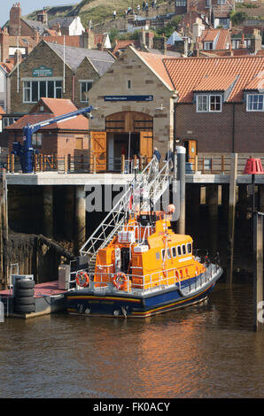 Whitby Lifeboat and Lifeboat Station - Stock Photo
