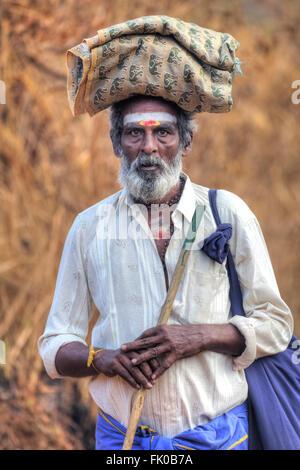 pilgrim in Periyar, Thekkady; Periyar; Kerala; India; - Stock Photo