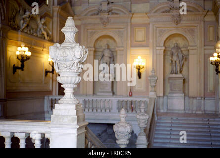 Italy, Piedmont, Turin, Palazzo Reale,  Royal Palace - Stock Photo