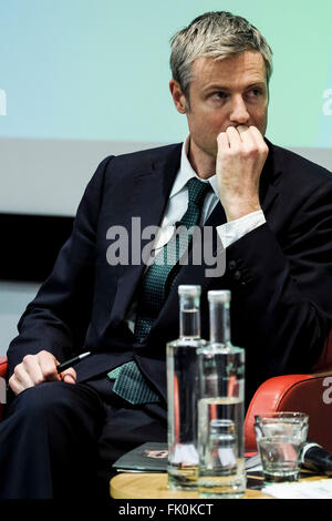 Greener London Hustings on 04/03/2016 at Royal Society of Medicine, One Wimpole Street, London. Pictured: Zac Goldsmith. - Stock Photo