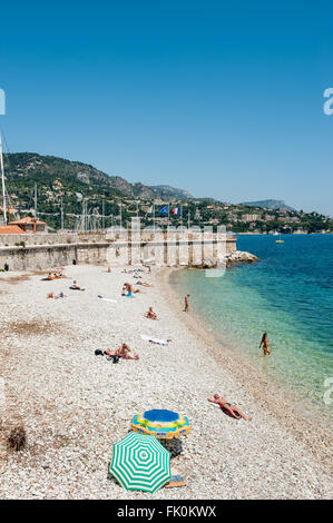 The beach at port d 39 arse villefranche sur mer nice - Port de la darse villefranche sur mer ...