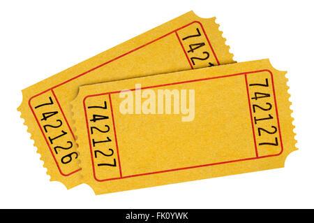 mailing raffle tickets