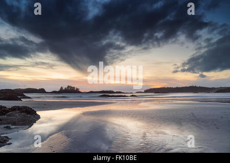 Schooner Cove, Long Beach, Tofino, British Columbia, Pacific Rim National Park - Stock Photo