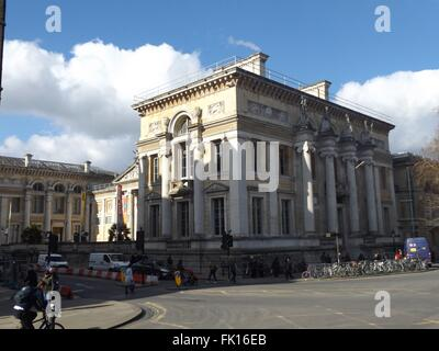Ashmolean Museum, Oxford, UK - Stock Photo