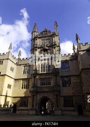 Bodleian Library Oxford - Stock Photo