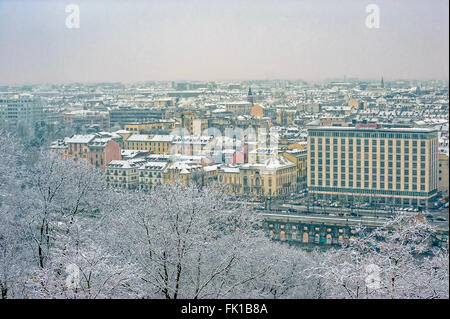 Turin, Italy. 5th March, 2016. Italy Piedmont Turin Panorama with Credit:  Realy Easy Star/Alamy Live News - Stock Photo