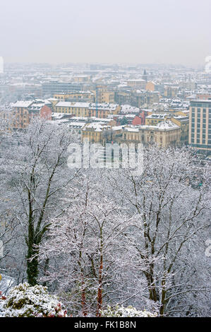 Turin, Italy. 5th March, 2016. Italy Piedmont Turin Panorama Credit:  Realy Easy Star/Alamy Live News - Stock Photo