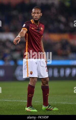 Rome, Italy. 4th March, 2016. Seydou Keita Roma.  Roma 4-03-2016  Stadio Olimpico  Campionato Serie A,  AS Roma - Stock Photo
