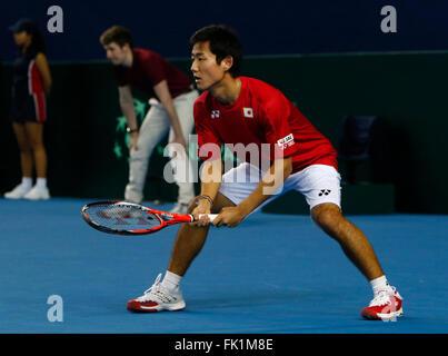 Barclaycard Arena, Birmingham, UK. 05th Mar, 2016. Davis Cup Tennis World Group First Round. Great Britain versus - Stock Photo