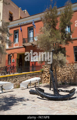 Maritime Museum Of Crete Chania Stock Photo, Royalty Free ...