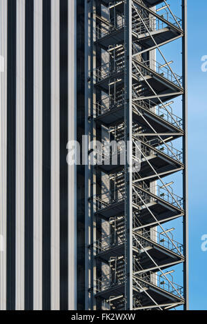 Industrial Staircase   Stock Photo