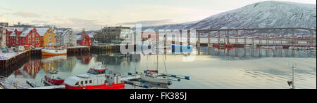 Port of Tromso in Troms Municipality, Norway. October 24,2013