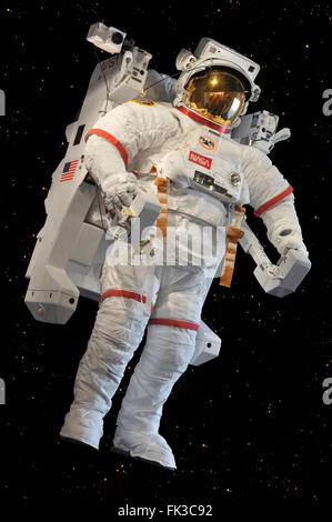 Man in Astronaut Suit, Kennedy Space Center, Cape ...