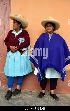 ' La Samaritana Square ' in HUANCABAMBA. Department of Piura .PERU - Stock Photo