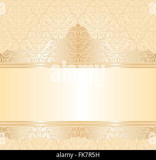 gentle wedding pale peach invitation  background design - Stock Photo