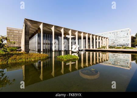 Itamaraty Palace, Palacio do Itamaraty, Foreign Ministry, Brasília, Brazil - Stock Photo
