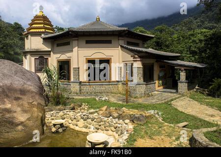 Temple Ecovillage Gaura Vrindaban Hare Krishna Community - Stock Photo