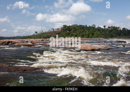 Xingu River in the Big Bend region of the Xingu - Stock Photo