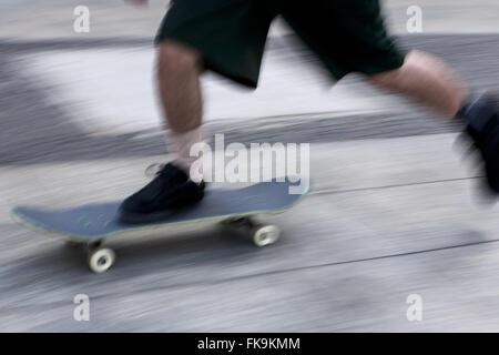 Detail of practical skateboard - Stock Photo