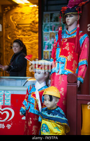 snack shop and photo booth, Round City, or City of Harmony, in Beihai Park, Beijing, China - Stock Photo