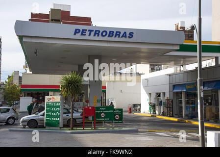 Tour of fuel PETROBRAS - Stock Photo