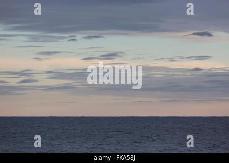 Evening along the Minnesota North Shore of Lake Superior - Stock Photo