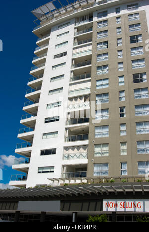 An image of units for sale in suburban Brisbane Australia. - Stock Photo