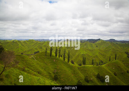Landscape at the forgotten highway - Stock Photo