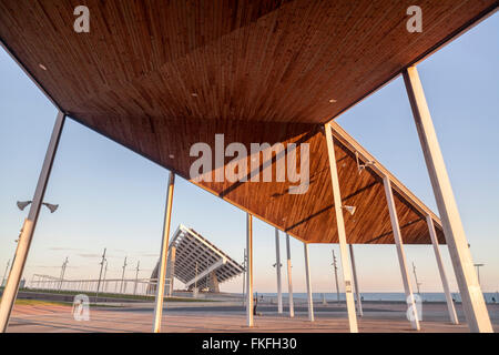 Parc del Forum, Barcelona. - Stock Photo