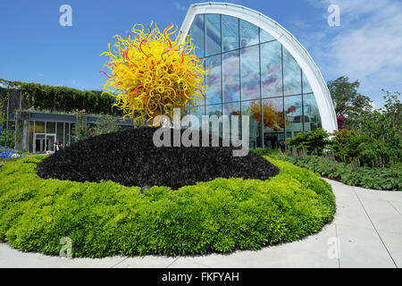 Seattle in America: displays at the Chihuly Garden and Glass Stock ...