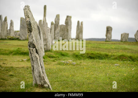 Callanish Standing Stones Isle of Lewis, Scotland - Stock Photo