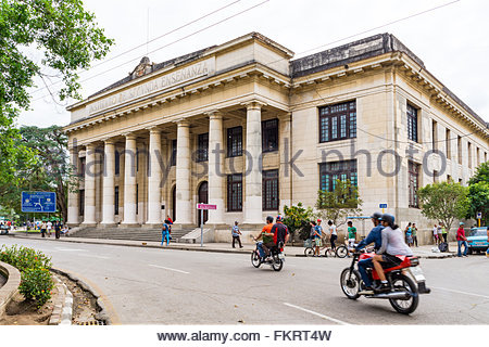 Instituto de Segunda Ensenanza. Cuban National Monument. The eclectic building served as educational center during - Stock Photo