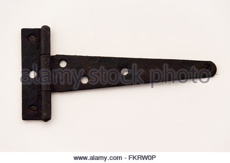 Museum of Architecture: vintage hinge traditional in Spanish colonial times  Trinidad is a Unesco World Heritage - Stock Photo