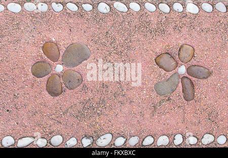 Purple stone surfaces background - Stock Photo
