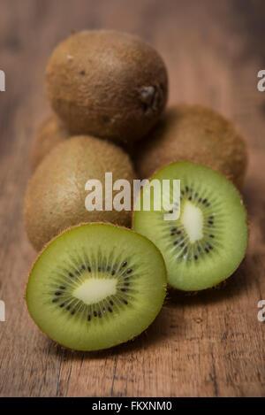 Fresh kiwi fruit - Stock Photo