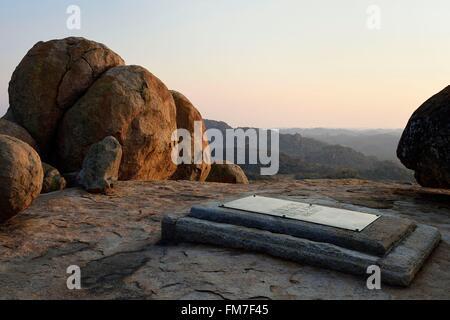 Zimbabwe, Matabeleland South Province, Matobo or Matopos Hills National Park, listed as World Heritage by UNESCO, - Stock Photo