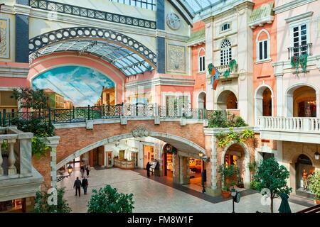 United Arab Emirates, Dubai, Mercato Shopping Mall - Stock Photo